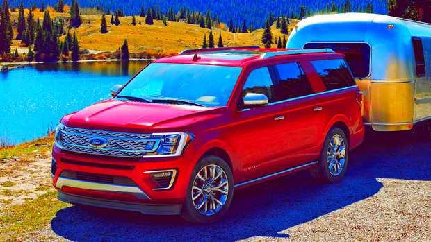 Более 9 лет средний срок владения кроссовером Ford Expedition