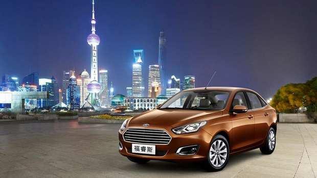 Китайский Седан Ford Escort 2014 года седьмого поколения