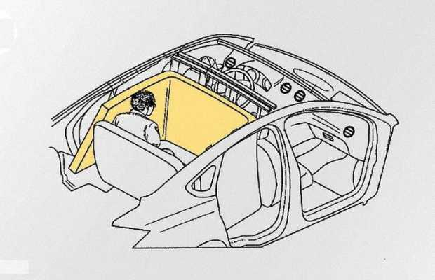 Подушки безопасности для пассажиров задних сидений