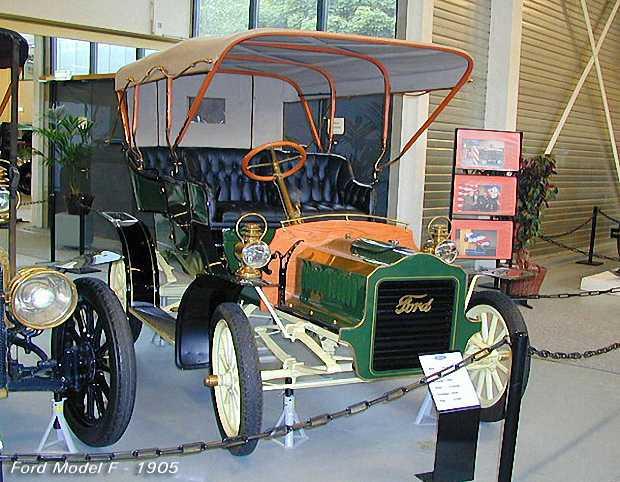 Форд модель F, 1905 г в музее