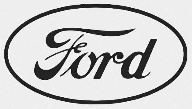Логотип Ford Motor после 1912 года